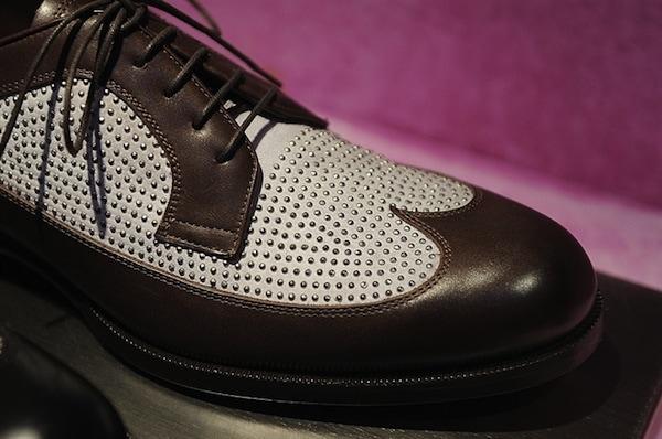 Jimmy Choo Mens SS14 blinged boot brown