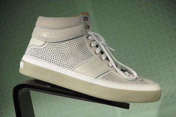Jimmy Choo Mens SS14 blinged sneaker