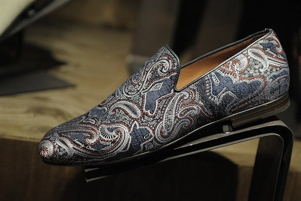 Jimmy Choo Mens SS14 graphic loafer2