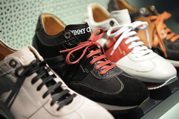Jimmy Choo SS14 Neon sneakers