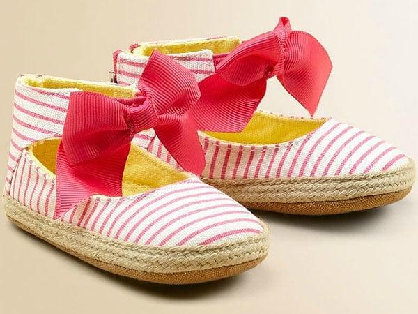 Juicy Couture Infant's Ankle-Tie Espadrilles