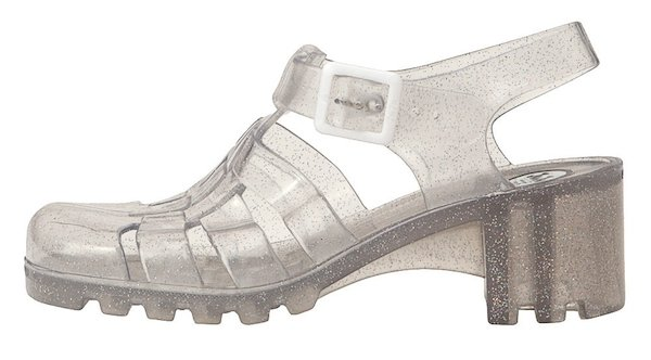Juju Babe Jelly Sandals Silver