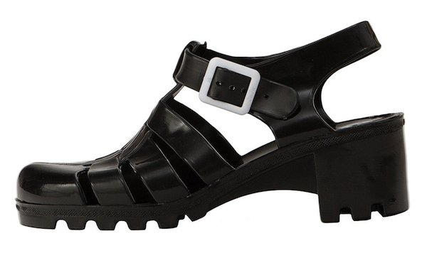 Juju Babe jelly sandals black