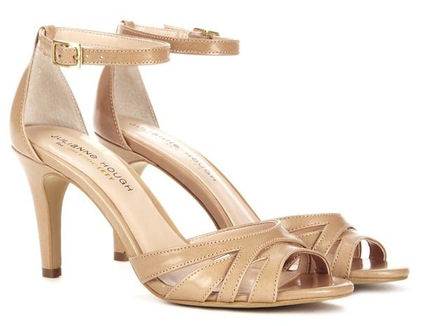 Julianne Hough for Sole Society Gianna sandals beach tan