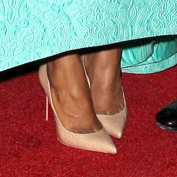 Kerry Washington Christian Louboutin Decollete