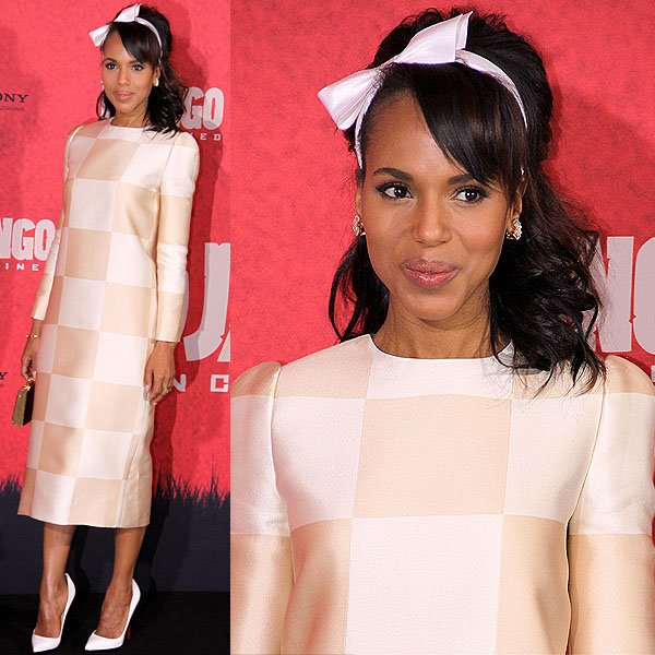 Kerry Washington Django Unchained Berlin Photocall