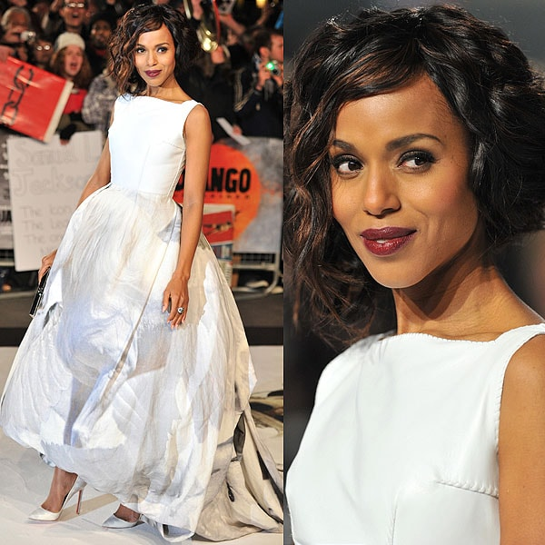 Kerry Washington Django Unchained London Premiere