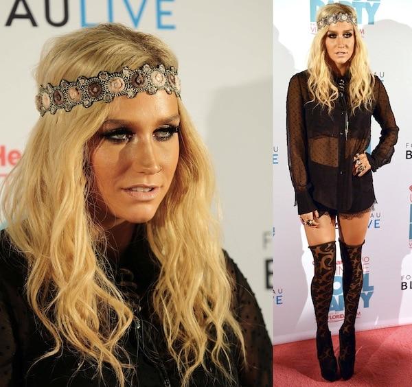 Kesha iHeartRadio party