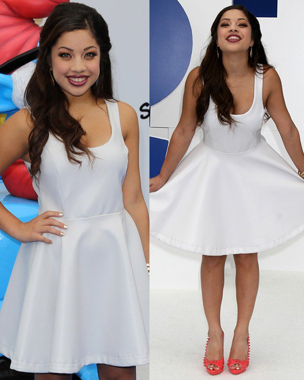 Kiana-Brown-LA-Premiere-The-Smurfs-2