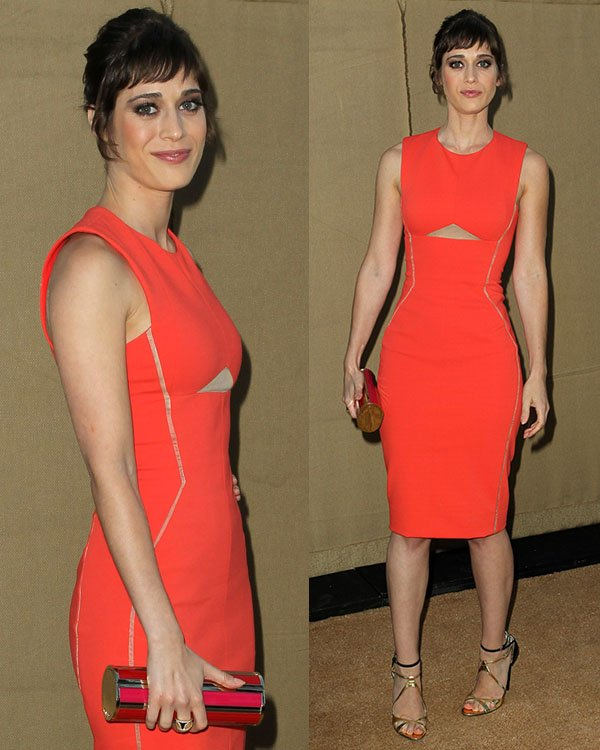 Lizzy Caplan 2013 Summer TCA Party