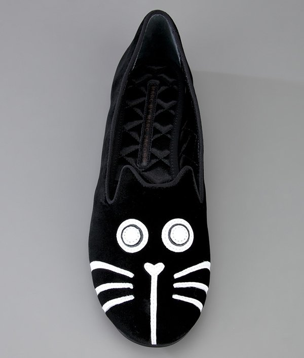 Marc by Marc Jacobs Cat Ballet Pumps