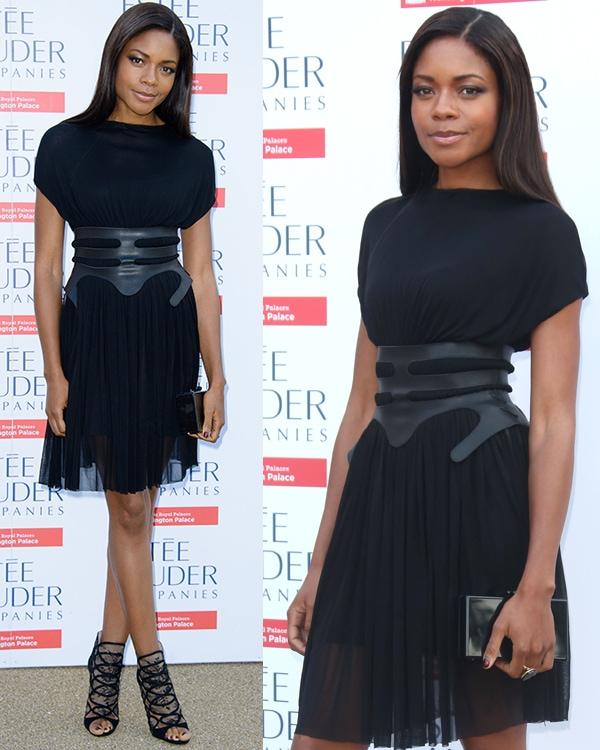 Naomie Harris Fashion Rules Exhibition