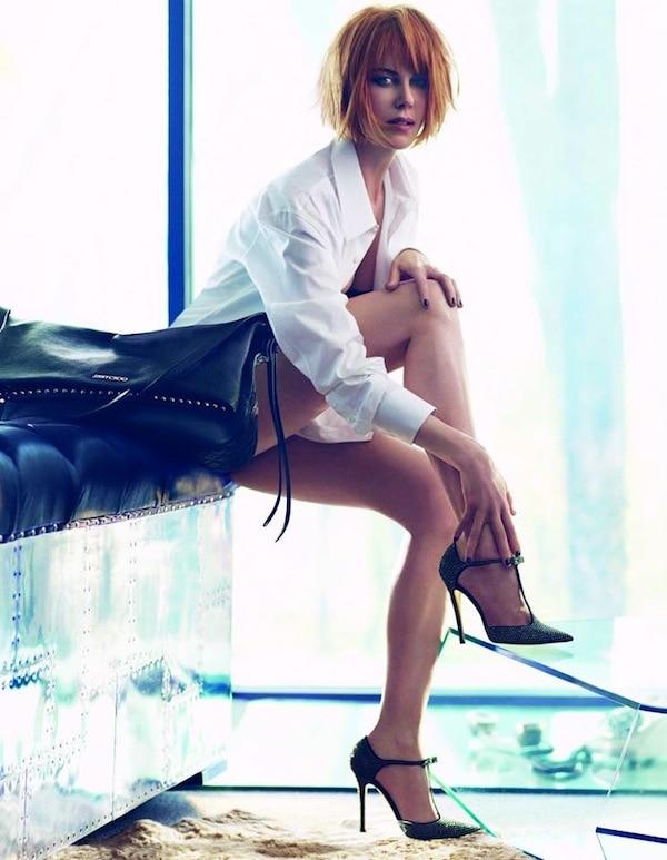 Nicole Kidman for Jimmy Choo AW13 Twain