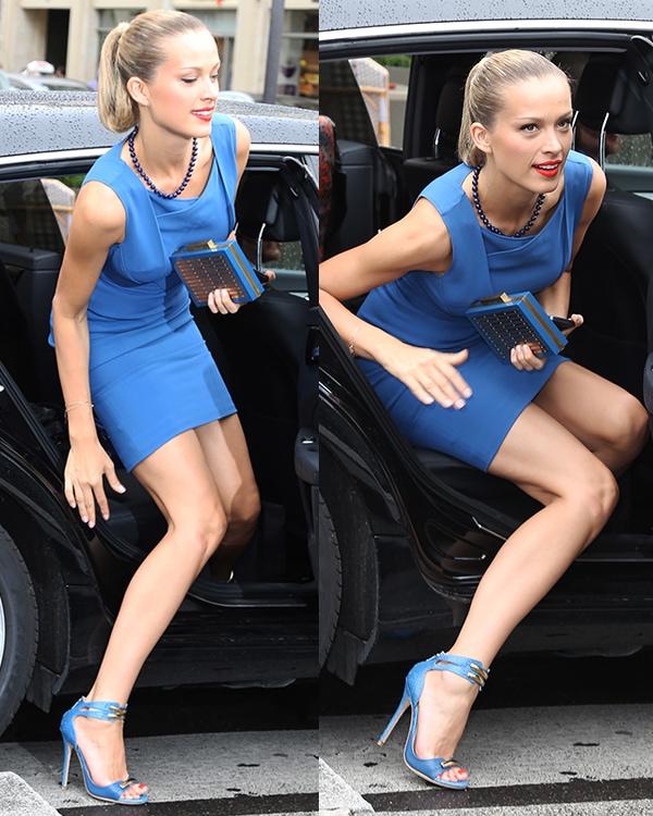 Petra Nemcova Paris Fashion Week1