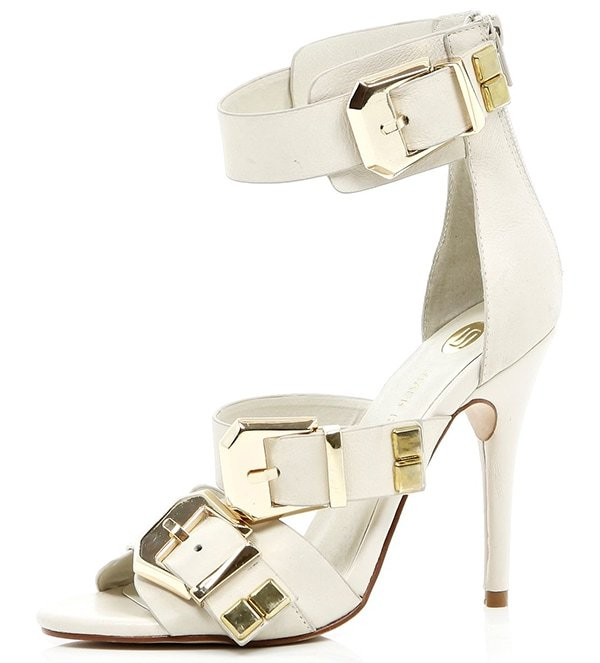 River Island Chunky Buckle Sandals