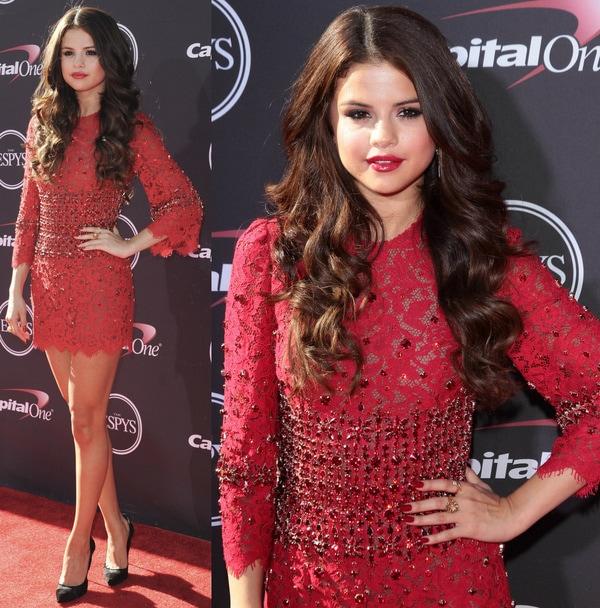 Selena Gomez in Casadei Pumps