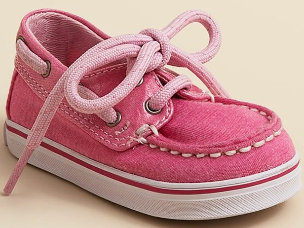Sperry Infant Girls' Bahama Crib Shoes