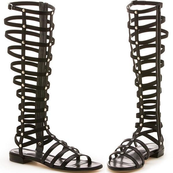 Stuart Weitzman Tall Gladiator Sandals