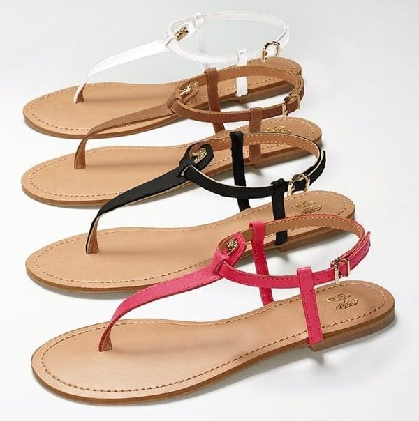 Victoria's Secret Supermodel Essentials T-Strap Flats