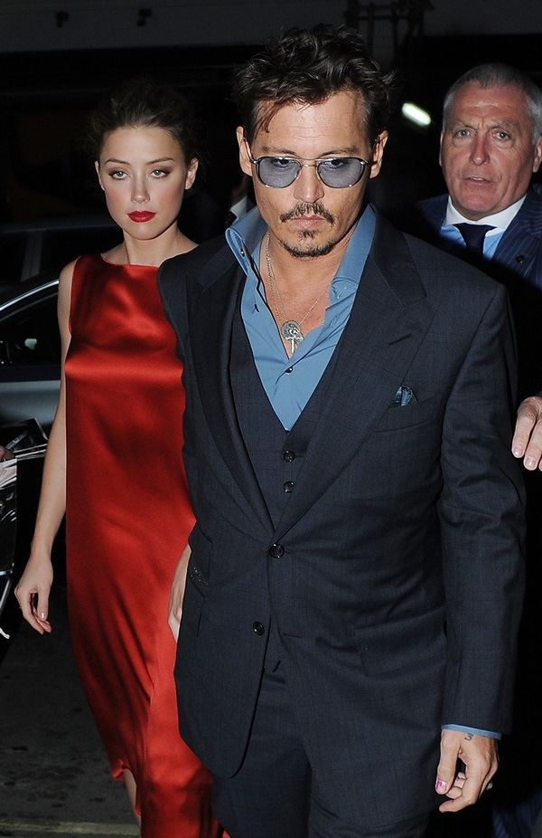 Johnny Depp and Amber Heard looked insanely good together