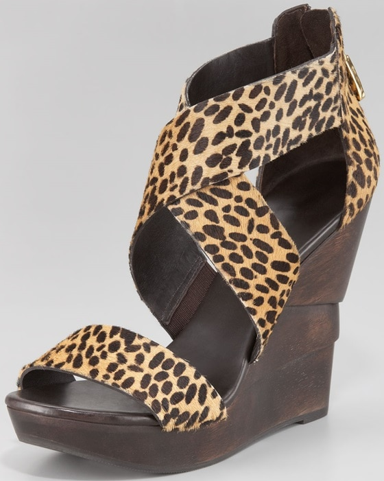 diane von furstenberg opal in haircalf animal print