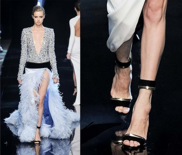 The Alexandre Vauthier runway look from Paris Haute Couture Fashion Week in July 2013