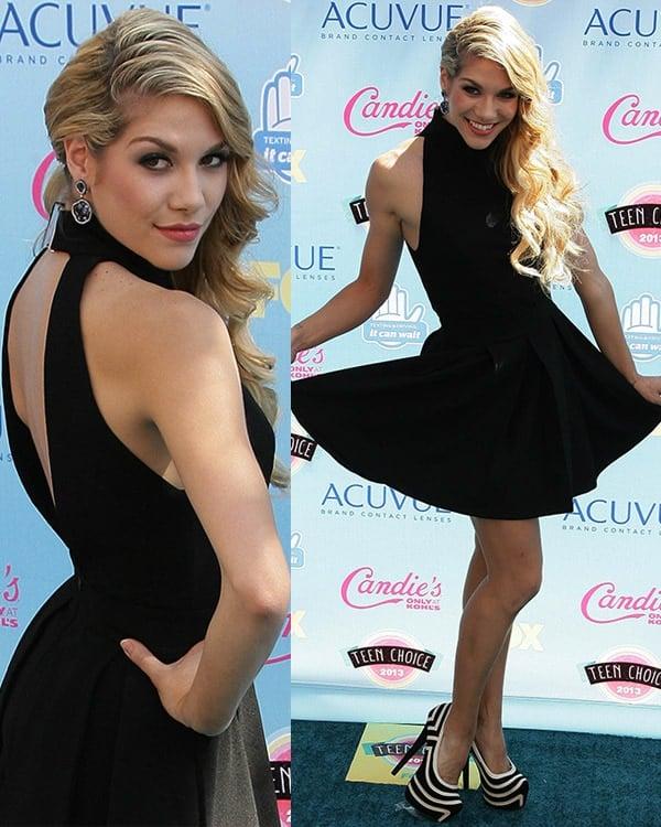 Allison Holker 2013 Teen Choice Awards