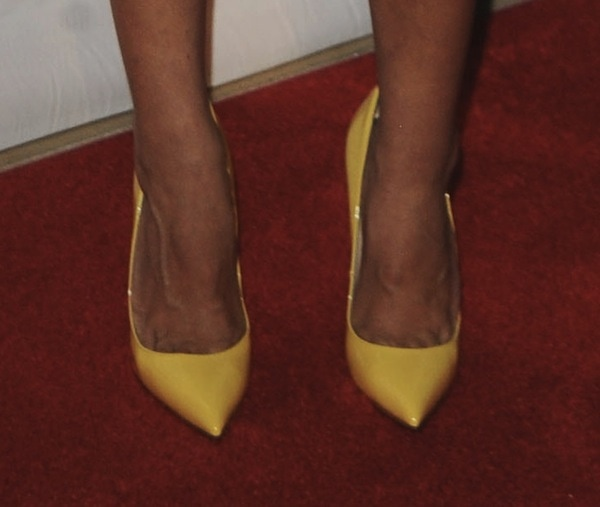 Aubrey plaza shoes Imagen Awards 2013
