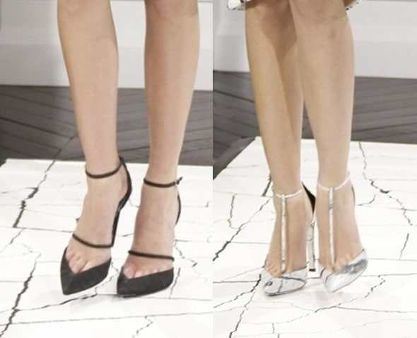 Balenciaga pumps from the Fall/Winter 2013 collection