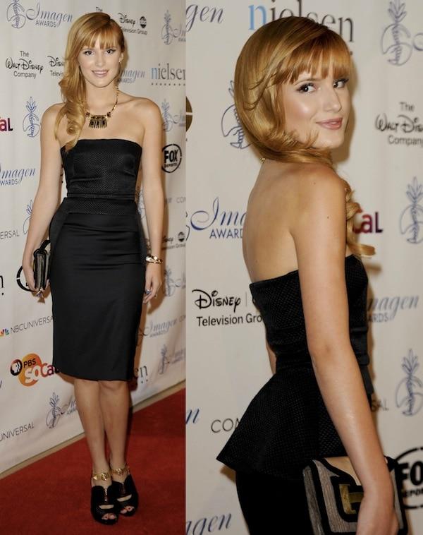 Bella thorne Imagen Awards 2013