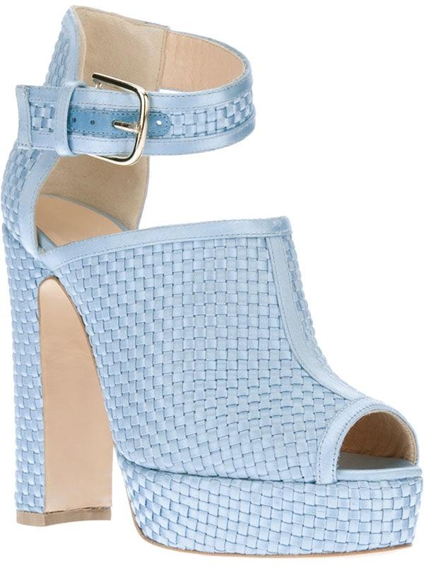 Bionda Castana Christa Sandals in Light Blue