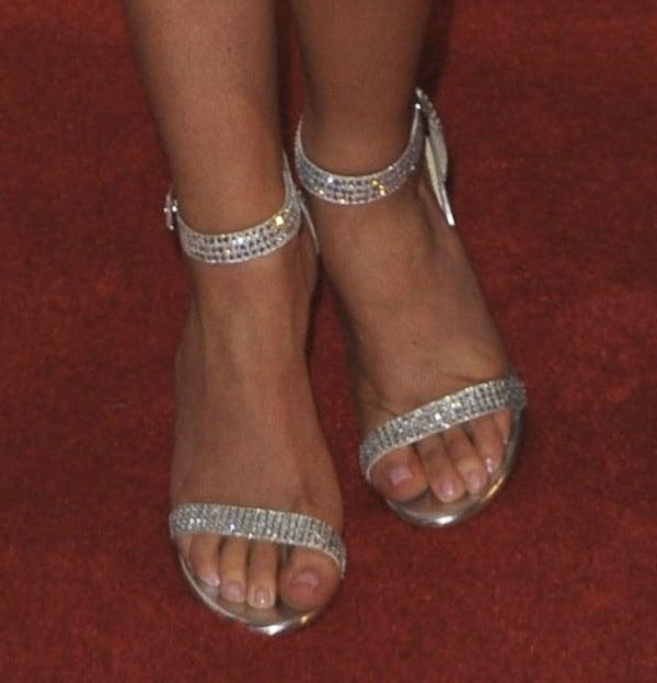 Brittany Underwood shoes Imagen Awards 2013