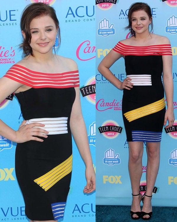 Chloe Moretz 2013 Teen Choice Awards