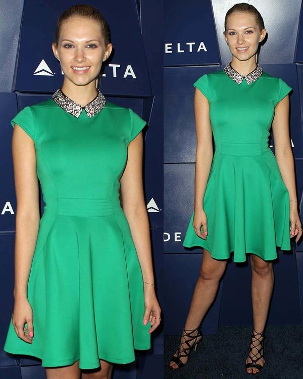Claudia Lee Delta Air Lines Hosts Summer Celebration