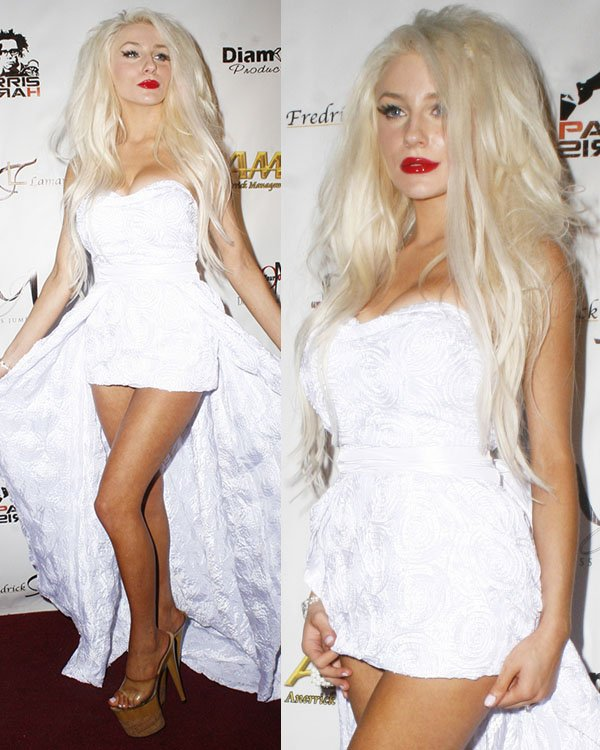 Courtney Stodden at Shekhar Rahate's Haute Couture Fashion Show in Los Angeles on March 14, 2013