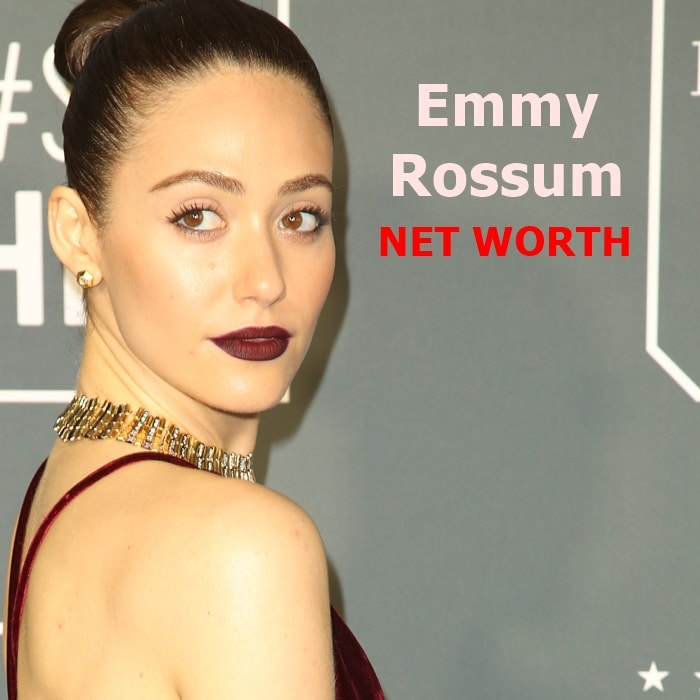 Emmy Rossum's net worth is $12 million