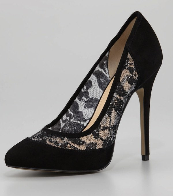 """French Connection """"Cybil"""" Mesh Pumps"""