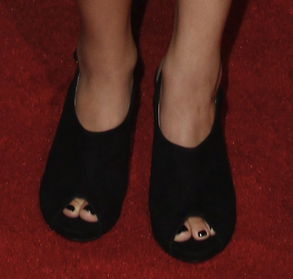 Fatima Ptacek shoes imagen awards 2013