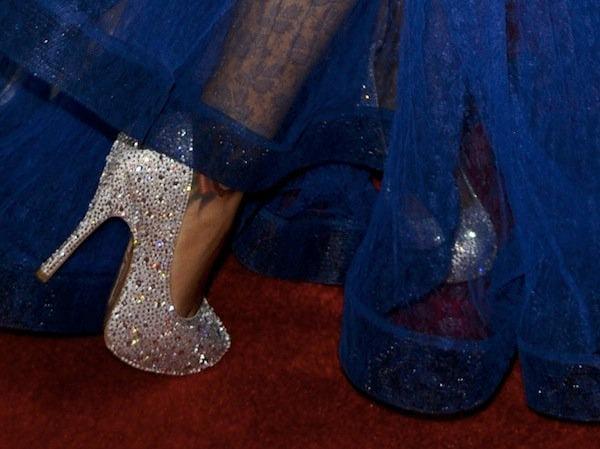 Francesca Raisa shoes Imagen awards 2013