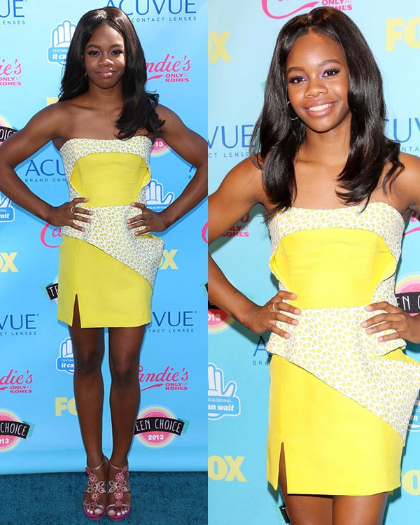 Gabby Douglas 2013 Teen Choice Awards