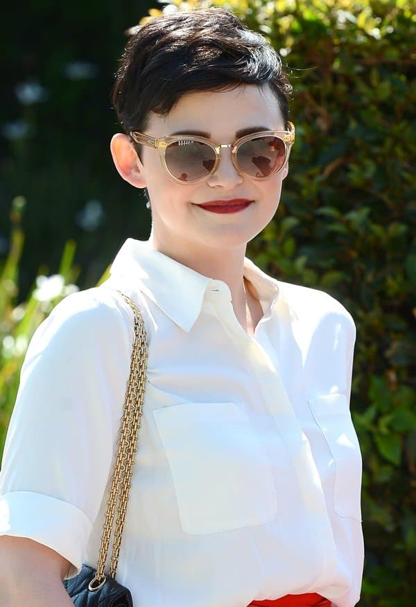 Ginnifer Goodwin can switch from cute and retro to a more sophisticated and edgy style