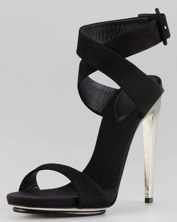 Giuseppe Zanotti black sandals
