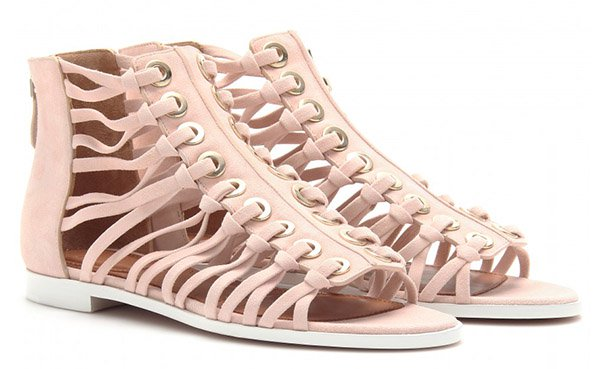 Givenchy Gladiator Sandals Nude