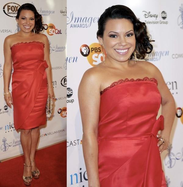 Gloria Garayua imagen awards 2013