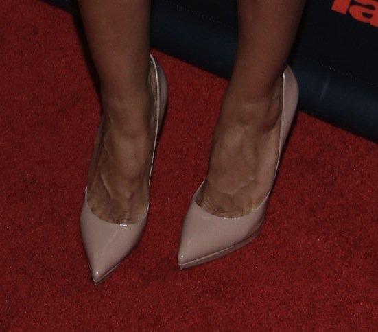 Heidi Klum shoes Americas got talent nyc