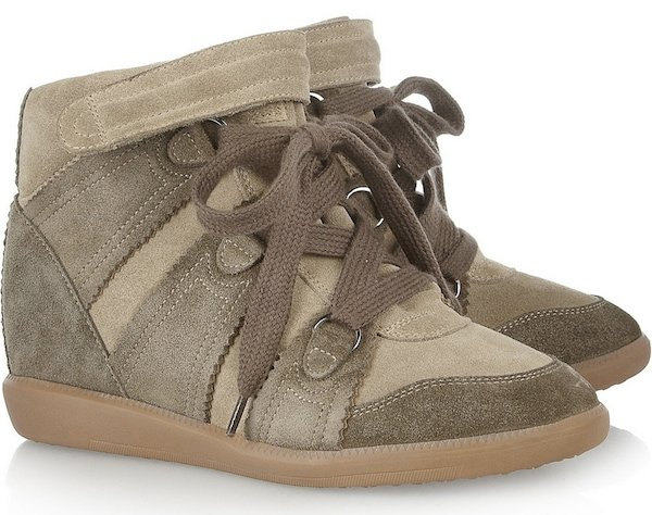 Isabel Marant Bluebel Concealed Wedge Sneakers