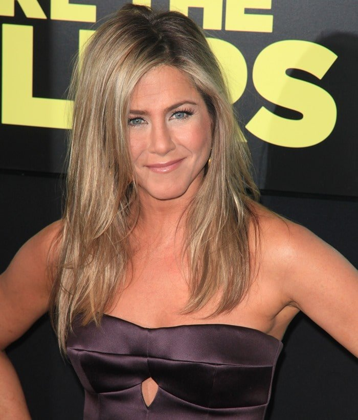 Everyone was talking about Jennifer Aniston at the world premiere