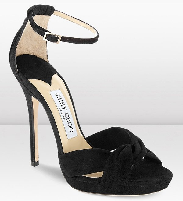 Jimmy Choo Jada Sandals Black