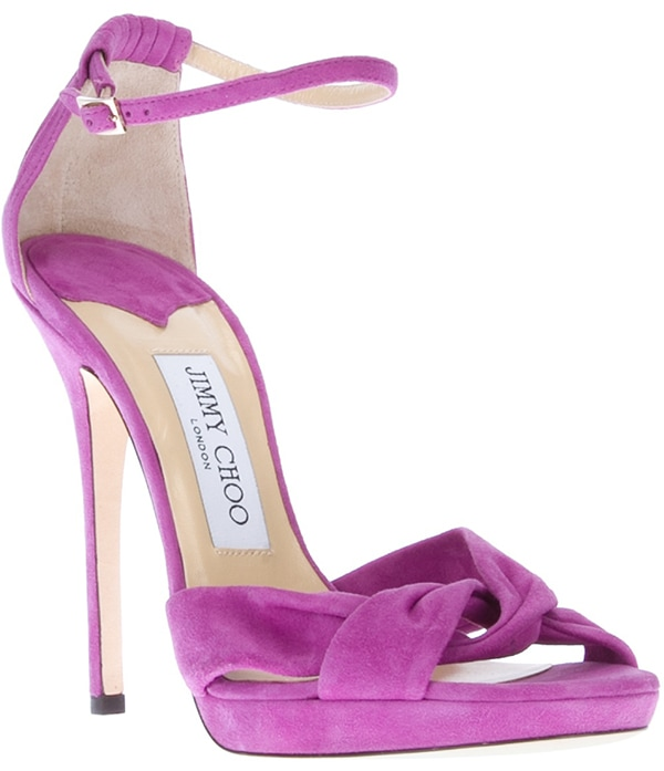 Jimmy Choo Jada Sandals Purple