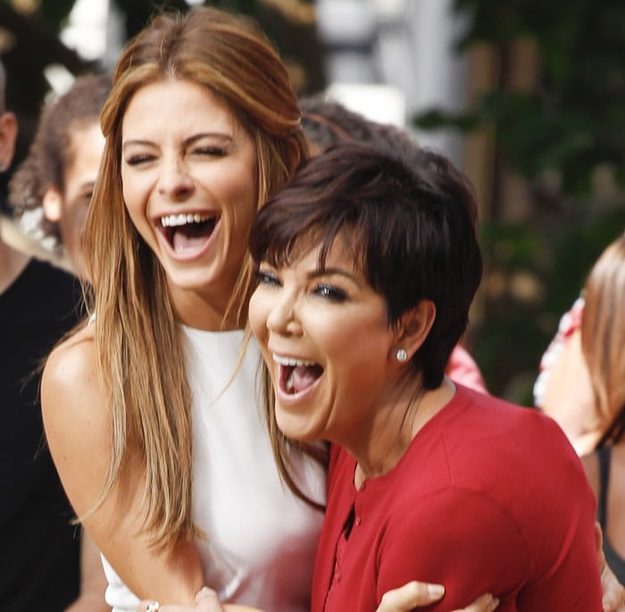 Kris Jenner Guests on Extra
